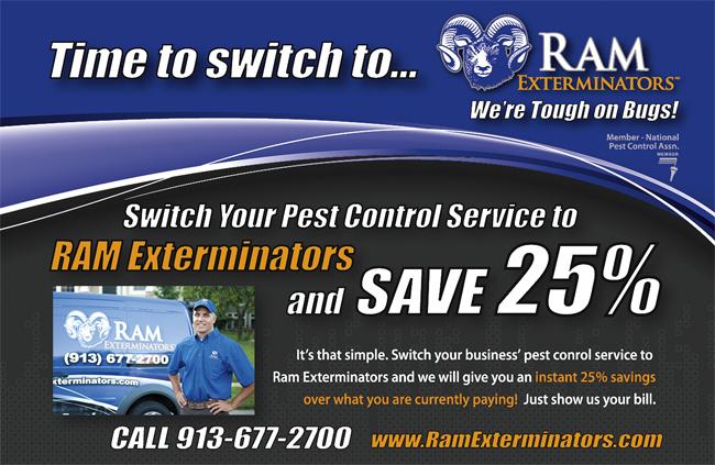 Make The Switch Ram Exterminators Pest Control Blog