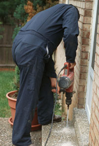 foundation termite treatment